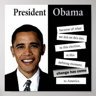 Obama Poster print