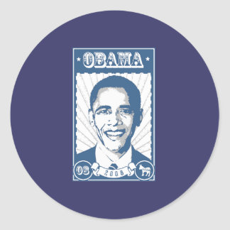 OBAMA POSTER STICKERS