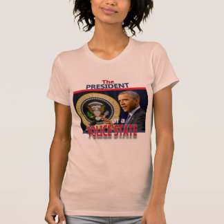 Obama: President of a Police State Shirt