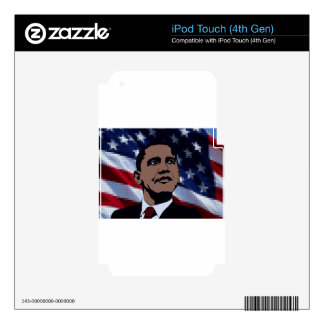 Obama President iPod Touch 4G Decal