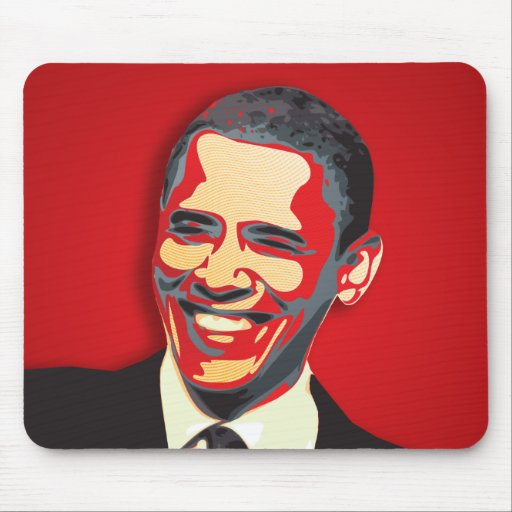 Obama Presidential Election Mouse Pads