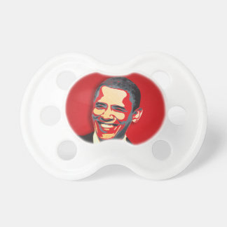 Obama Presidential Election Baby Pacifiers