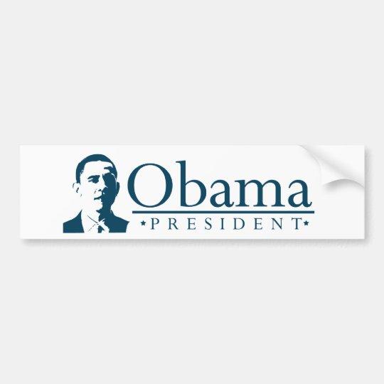 Obama Presidential Portrait Bumper Sticker