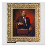 Obama Presidential Portrait Posters