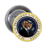 Obama Presidential Seal 2 Inch Round Button
