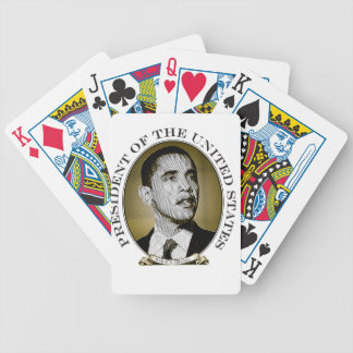 Obama Presidential Seal Bicycle Playing Cards