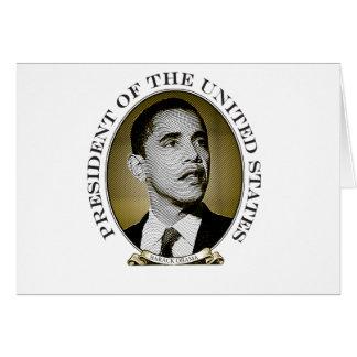 Obama Presidential Seal Card