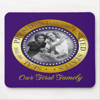 Obama Presidential Seal Portrait Mouse Pads