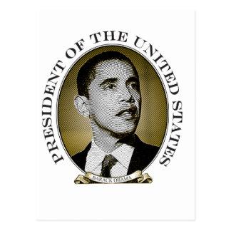 Obama Presidential Seal Postcard