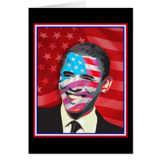 obama - Presidential Smile Card