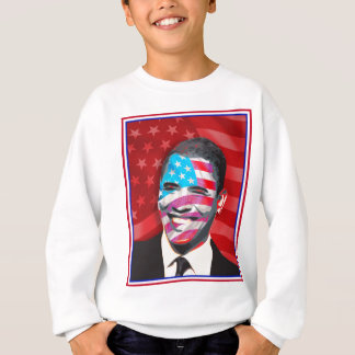 obama - Presidential Smile Sweatshirt