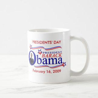 Obama Presidents' Day Keepsake Coffee Classic White Coffee Mug