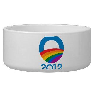 Obama Pride 2012 Dog Food Bowls