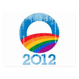 Obama Pride 2012 Vintage.png Postcard