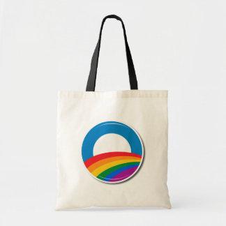 Obama Pride Button - Canvas Bag