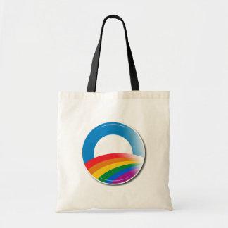 Obama Pride Button Tote Bag