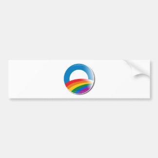 Obama Pride Button Bumper Sticker