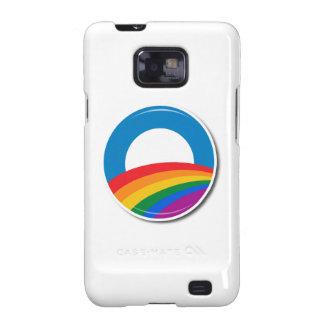Obama Pride Button - Galaxy SII Case