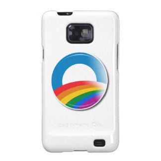 Obama Pride Button Galaxy SII Cases
