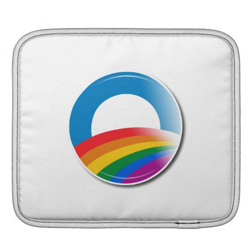 Obama Pride Button Sleeve For iPads
