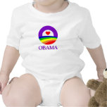 Obama Pride Clothing Rompers