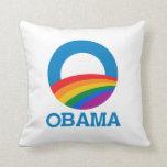 Obama Pride Pillow