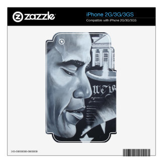 Obama Pride Decal For iPhone 3