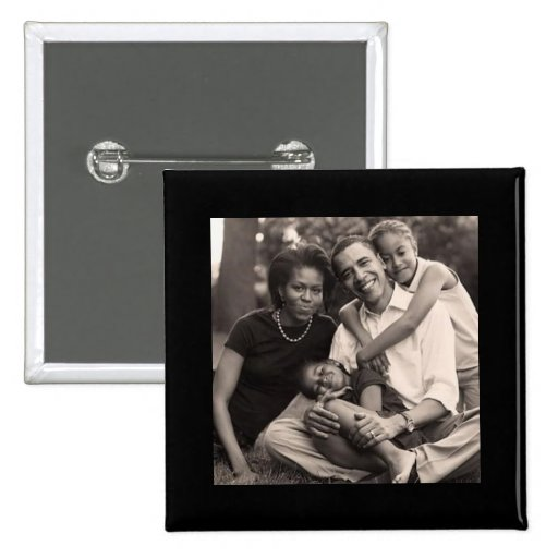 Obama-Primera familia Pins
