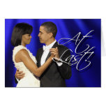 Obama primero baila - en el último tarjetón