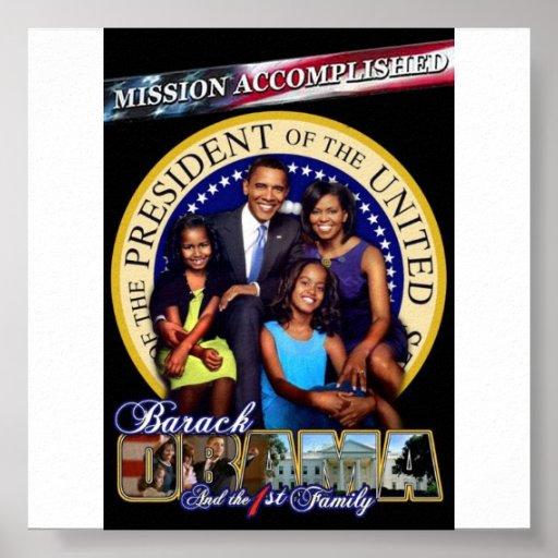 obama-primero-familia póster