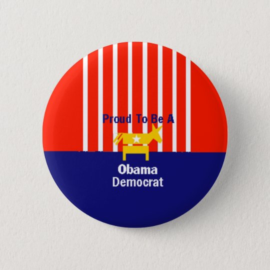Obama Proud Button