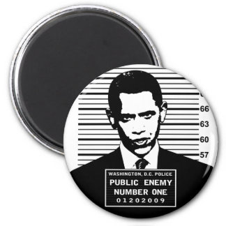 Obama - Public Enemy Number One Magnets