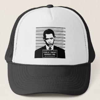 Obama - Public Enemy Number One Trucker Hat