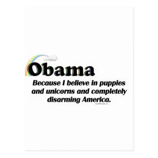 Obama que desarma América Postal