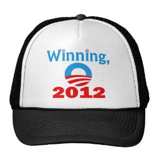 Obama que gana, 2012 gorras de camionero