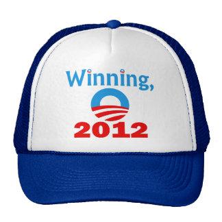 Obama que gana, 2012 gorros bordados