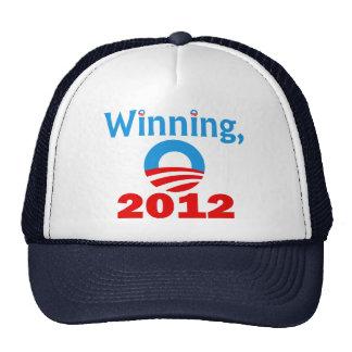 Obama que gana, 2012 gorro de camionero