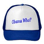Obama que gorro