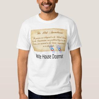 obama que pisotea en Declaración de Derechos Polera