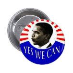 Obama que podemos abotonar sí pins