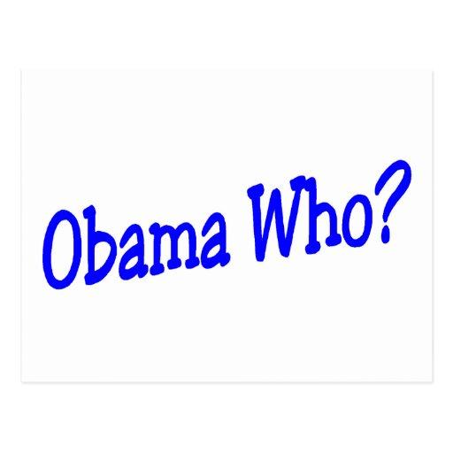 Obama que tarjetas postales