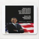 Obama quote mouse mats
