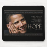 Obama Quote Mouse Pads