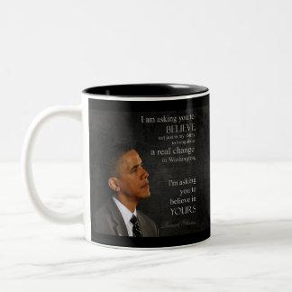 Obama Quote Mug 1 of 6 - Customized