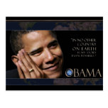 Obama Quote Post Card