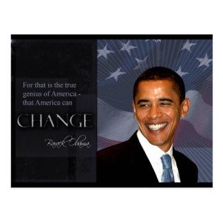 Obama Quote Postcards