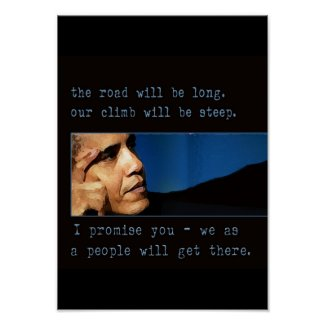 Obama Quote Poster print