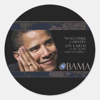 Obama Quote Stickers