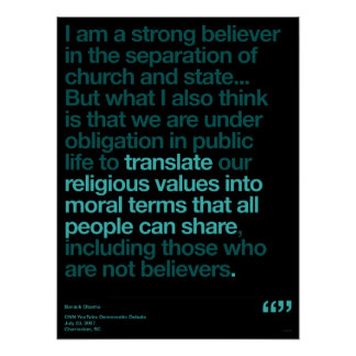 Obama Quotes Poster
