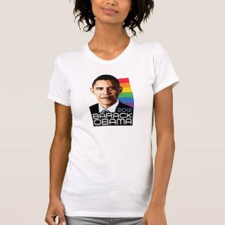 Obama Rainbow Pride T-shirt